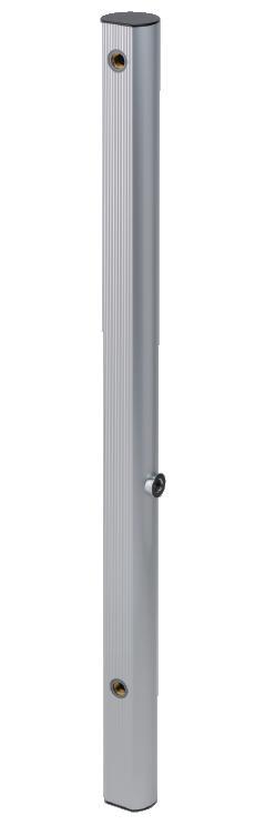 【立水栓・水栓柱】双口アルミ水栓柱(シルバー)900mm