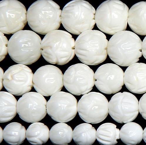 【壊れにくい高品質タイプ】★連売り★約10mm カット オニキス ホワイト[OnyxWhite] 白色《kren-onct-wh-10》【クリスタル神戸】