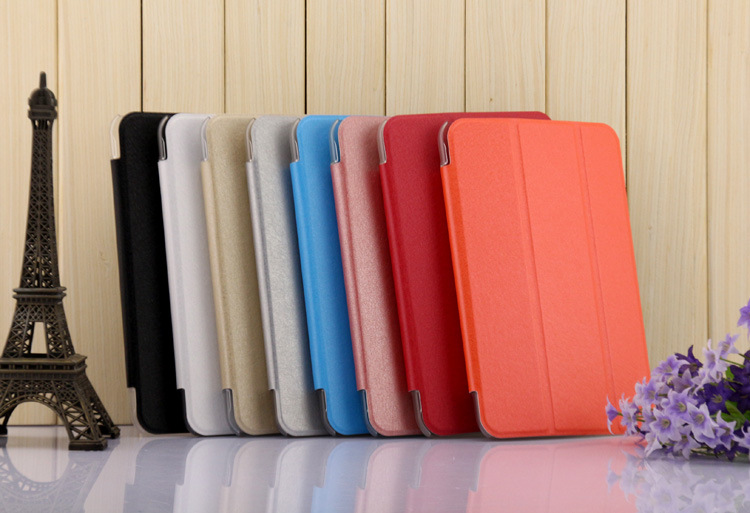 Huawei MediaPad 7 Youth2 (S701U)専用 【送料無料】Huawei MediaPad 7 Youth2 (S701U)専用三つ折スマートカバー☆超薄 軽量型 スタンド機能 高品質PUレザーケース☆全9色
