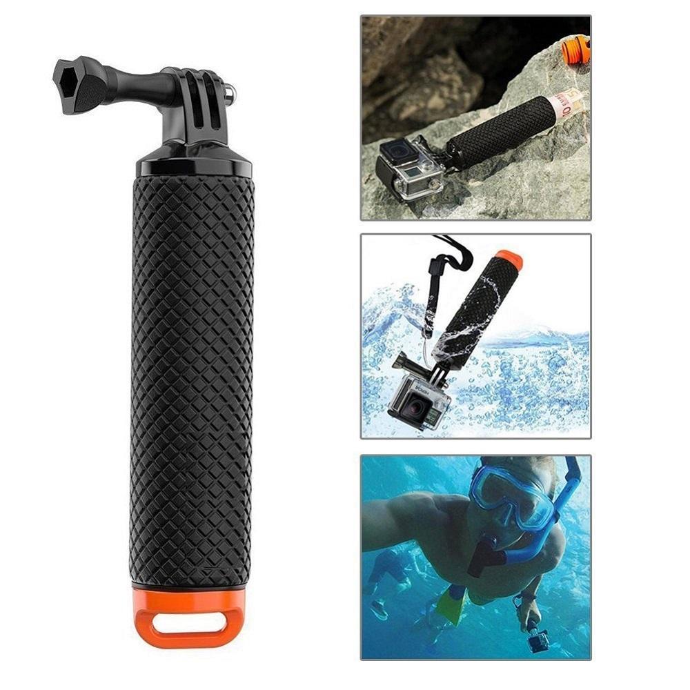 送料無料 Gopro 通常便なら送料無料 対応 3in1自撮り棒 浮きハンドグリップ 推奨 セルカ棒 フローティング スティック 防水デザイン 浮き グリップ 4 xiaoyi 3 防水仕様Gopro 2 Hero 1 スポーツカメラ用 3+ SJCAMなどのカメラ対応