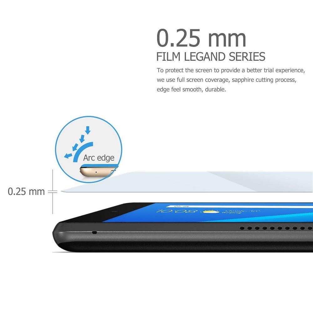 【送料無料】Lenovo Tab4 8.0 / LAVIE Tab E TE508/HAW 用強化ガラス 液晶保護フィルム ガラスフィルム 耐指紋 撥油性 表面硬度 9H 業界最薄0.3mmのガラスを採用 2.5D ラウンドエッジ加工 液晶ガラスフィルム