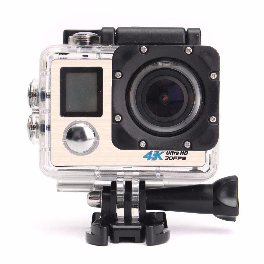 【送料無料】 アクション カメラ 4K WIFI搭載 アクションカメラ 液晶ディスプレイ HD 170度広角レンズ 30m 防水 極限運動記録 1200万画素 2.0インチリモコンバイクや自転車/カート/車に取り付け可 空撮、水泳、スポーツに最適