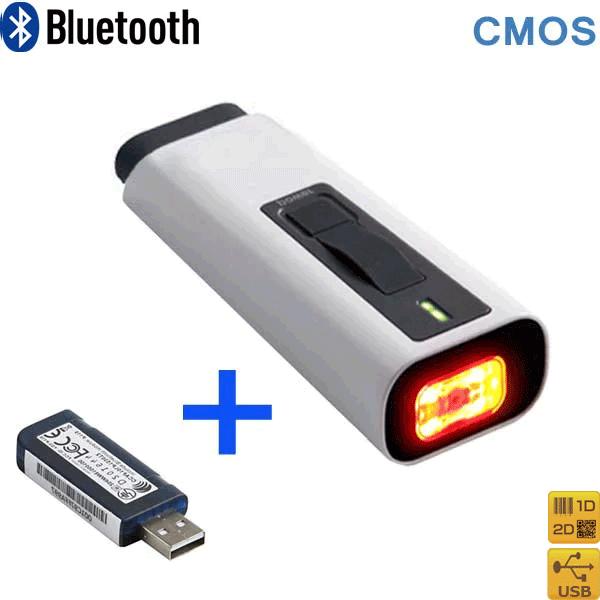 【AIMEX/アイメックス】BW-330BT 2次元コード対応モバイルバーコードスキャナ(Bluetooth接続) 《Bluetooth受信機(USBドングル)付き》【代引手数料無料】♪