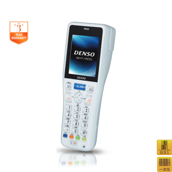 【DENSO】デンソーウェーブ 超小型軽量ハンディターミナル バッチモデル/ライトグレー BHT-1505B-LG【代引手数料無料】♪