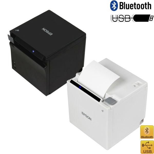 EPSON【色選択】USB+Bluetooth TM-m10シリーズ 58mmコンパクトレシートプリンタ TM10UB【代引手数料無料】♪