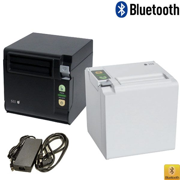 【SII】RP-D10サーマルレシートプリンター(前面/上面排紙兼用)《Bluetooth接続》電源付セット【送料無料】♪
