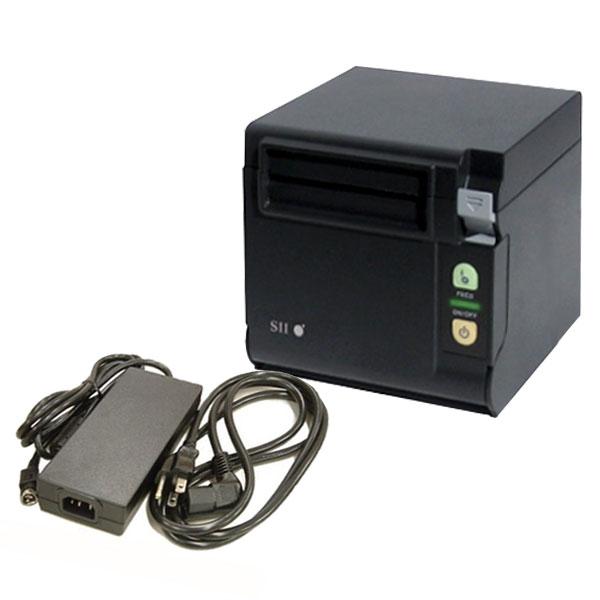 <POSレジ>【訳あり品】セイコーRP-D10サーマルレシートプリンター(前面/上面排紙兼用)《Bluetooth接続》電源付セット【送料無料】♪