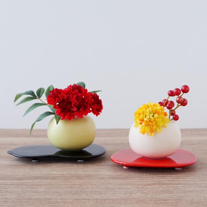 フラワーベース 花瓶 休み 和雑貨 和モダン おしゃれ かわいい 和小物 インテリア 大規模セール 倉庫からの発送 花器 シンプル