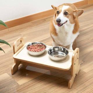 ハヤシ 期間限定特別価格 ウッディーダイニング シニアドッグの食事サポートに 定番キャンバス M