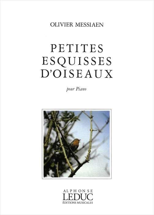 ピアノ 楽譜 メシアン   鳥の小スケッチ   PETITES ESQUISSES D'OISEAUX