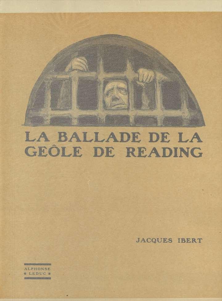 ピアノ 楽譜 イベール | レディング牢獄のバラード (1台4手) | LA BALLADE DE LA GEOLE DE READING (1P4H)