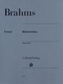 ピアノ 楽譜 ブラームス | ピアノ三重奏曲集 | Piano Trios