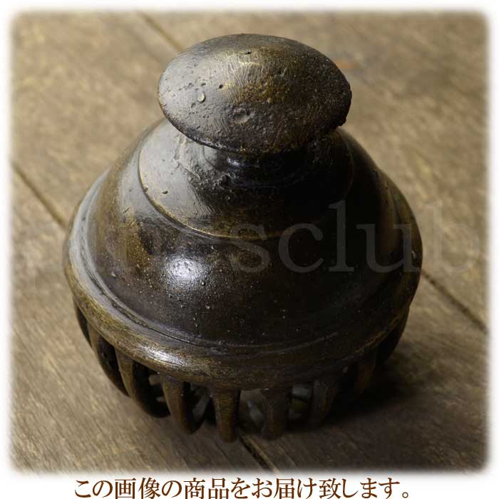 エレファントベル 象の鈴 一点物 直径約12cm 重さ約1.4kg インド 真鍮製 楽器 MGD-O-BELL-503