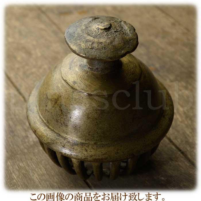 エレファントベル 象の鈴 一点物 直径約13.5cm 重さ約2.1kg インド 真鍮製 楽器 MGD-O-BELL-511