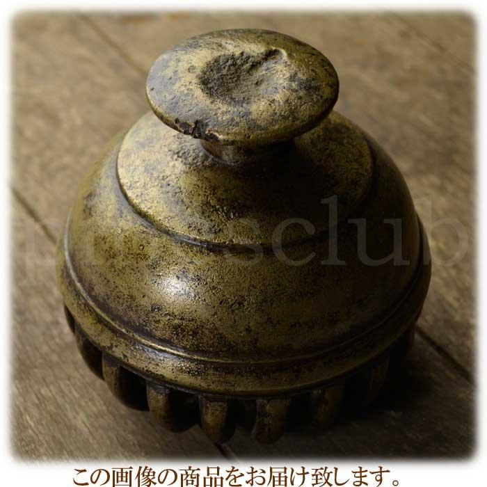 エレファントベル 象の鈴 一点物 直径約14.5cm 重さ約2.9kg インド 真鍮製 楽器 MGD-O-BELL-512