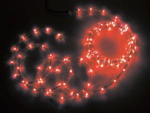 【送料無料】【ジェフコム/イルミネーション】PR3L-E24-08RR LEDソフトネオン 8m 赤・赤 JAN:4937897128073