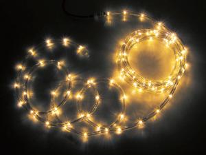 【送料無料】【ジェフコム/イルミネーション】PR3L-E24-08YY LEDソフトネオン 8m 黄・黄 JAN:4937897128318