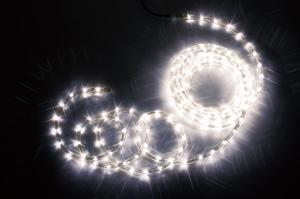 【送料無料】【ジェフコム/イルミネーション】PR3S-E24-04HH LEDフトネオン(40mmピッチ)シリーズ 4m ホワイトゴールド・ホワイトゴールド JAN:4937897129155