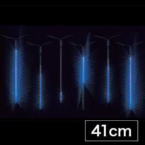 【送料無料】【ジェフコム/イルミネーション】SJ-E0940-B LEDルミネーション(連結タイプ) LEDフォール LEDフォール(中) 41cmタイプ 青 JAN:4937897130991