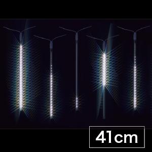 【送料無料】【ジェフコム/イルミネーション】SJ-E0940-W LEDルミネーション(連結タイプ) LEDフォール LEDフォール(中) 41cmタイプ 白 JAN:4937897131004