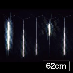 【送料無料】【ジェフコム/イルミネーション】SJ-E0960-W LEDルミネーション(連結タイプ) LEDフォール LEDフォール(中) 62cmタイプ 白 JAN:4937897131028