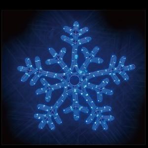 【送料無料】【ジェフコム/イルミネーション】SJ-C103BB-JT LEDルミネーション(連結タイプ) LEDジョイントモチーフ 雪の結晶(青・青) JAN:4937897131035