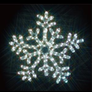 【送料無料】【ジェフコム/イルミネーション】SJ-C103WW-JT LEDルミネーション(連結タイプ) LEDジョイントモチーフ 雪の結晶(白・白) JAN:4937897131042