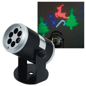 【送料無料】【ジェフコム/イルミネーション】STM-P01 LEDプロジェクター クリスマス 赤・緑・青・白 JAN:4937897131288