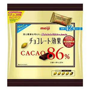 お菓子 チョコレート ファミリーサイズ 明治 210g×6入 袋 カカオ86% チョコレート効果 売り出し メーカー再生品