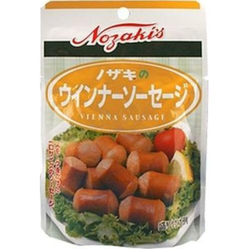 缶詰 瓶詰 畜産缶詰 ノザキ 40g×6入 受賞店 ウインナーソーセージ 日本産