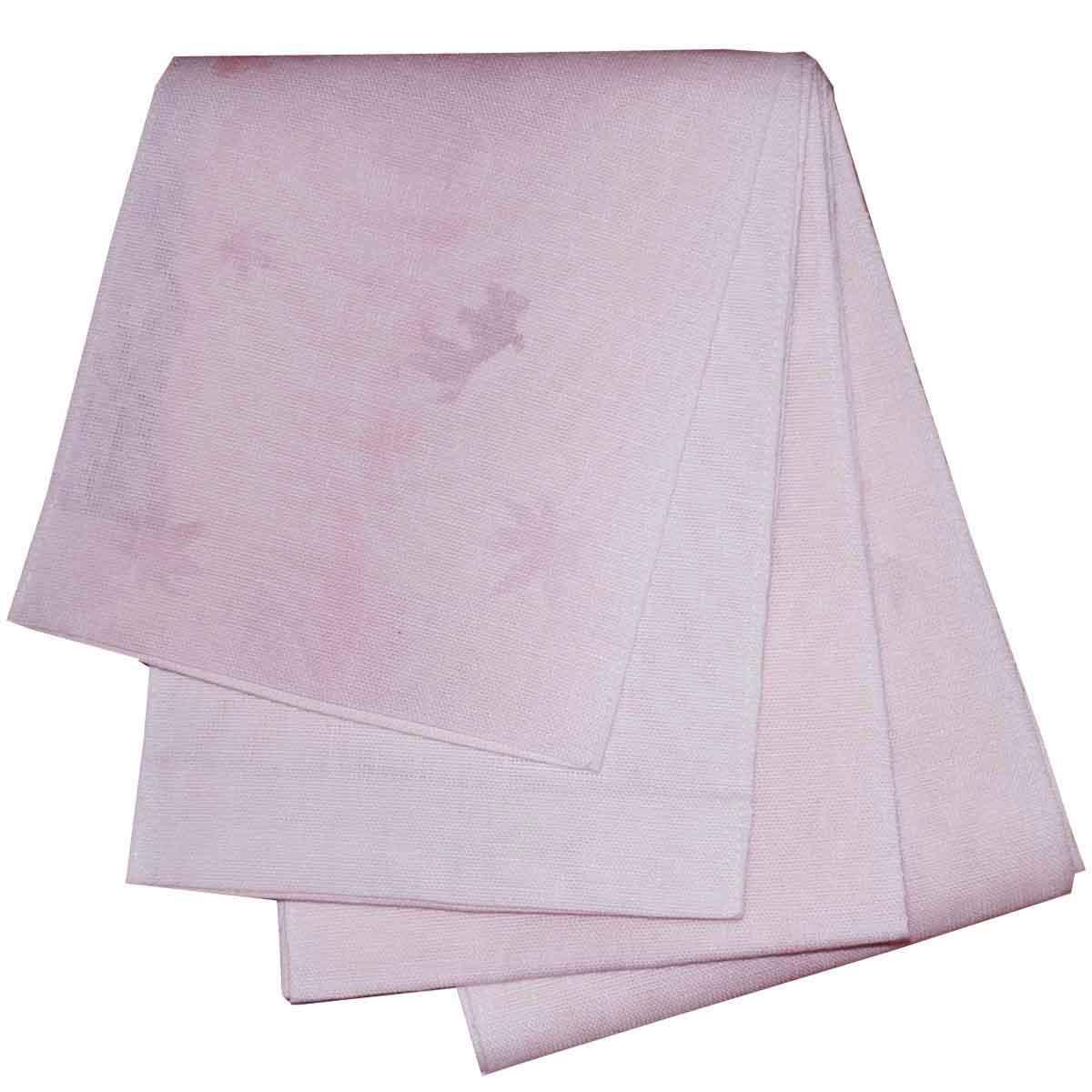 5%OFF クーポン 送料無料 日本製 本麻ボカシ 浴衣帯 半幅帯 半幅帯 小袋帯 金魚柄 ピンク 出店10周年記念