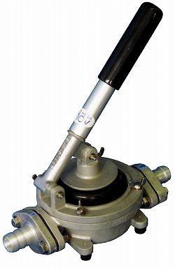 【防災用】 HDO-20ALA ハンドダイヤフラムポンプホースタケノコタイプ ホースニップル接続HDO20ALA 手動式ポンプ 水や油の移送に