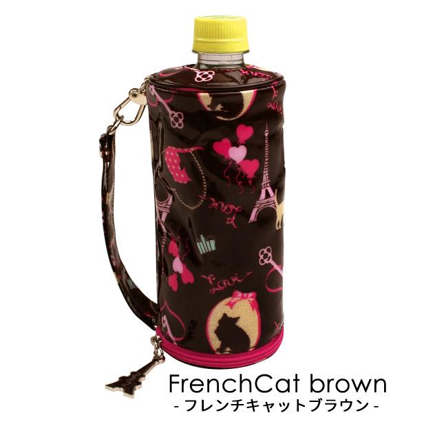 バッグの中や手に持った時 モデル着用 注目アイテム 記念日 水滴で濡れなくて安心 500ml用のペットボトルケース 保冷 保温効果も 付属のストラップはどこにでもつけられて便利 500ml 撥水 用 ペットボトル カバー 保温