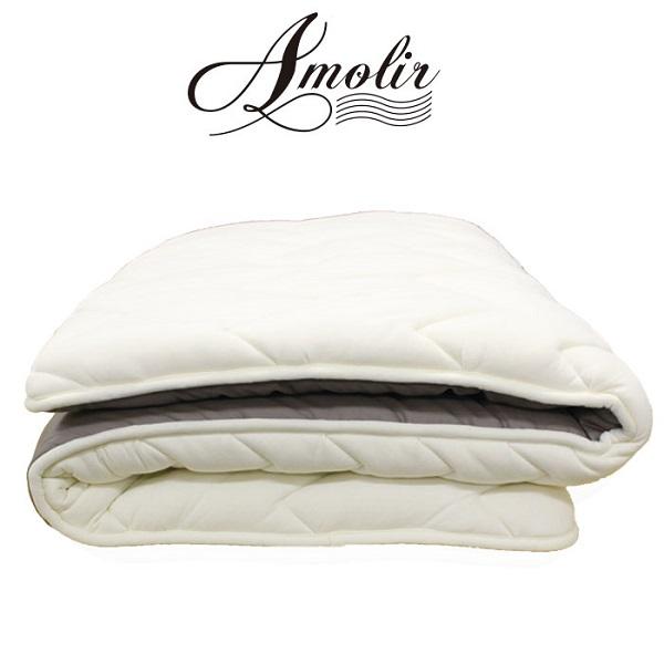 アモリール エア96 羊毛布団 セミダブル 日本製 敷布団 ウール100% オールシーズン 固め 軽い 蒸れにくい 送料無料