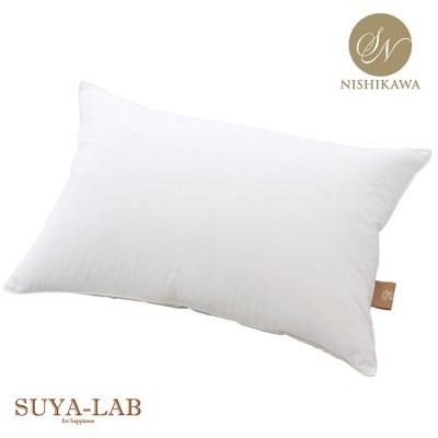 すやらぼ ラグジュアリーピロー L 羽毛 枕 グース ホテル 日本製 大きい 二層式 安眠 ふわふわ 抗菌防臭 送料無料