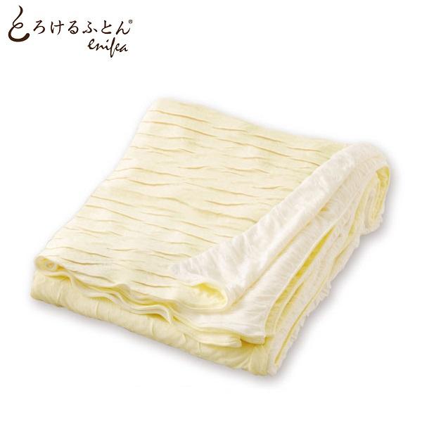 とろけるふとん enifea 掛け布団カバー クイーン 熟睡 布団カバー 柔らかい 敏感肌 肌にやさしい 日本製 クィーン ディーブレス