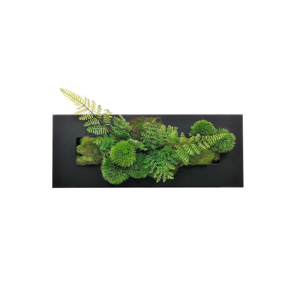 【39ショップ】【送料無料ライン対応】インテリア フェイクグリーン 人工観葉植物 造花マリモ×シノブ ウォールデコM GREENPARK | 観葉植物 観葉 植物 人工 人工植物 インテリアグリーン