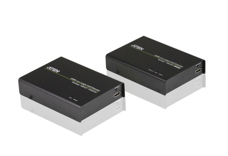 ATEN HDMIエクステンダー リモート2出力対応・シングルカテゴリ5 VE812/ATEN