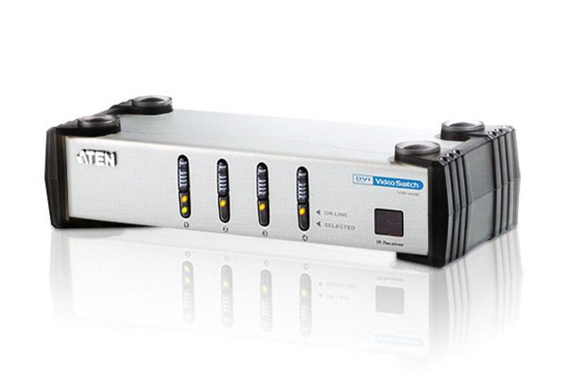 【全品ポイント2倍!】【メーカー取り寄せ】 ATEN DVI切替器 4ポート VS-461/ATEN