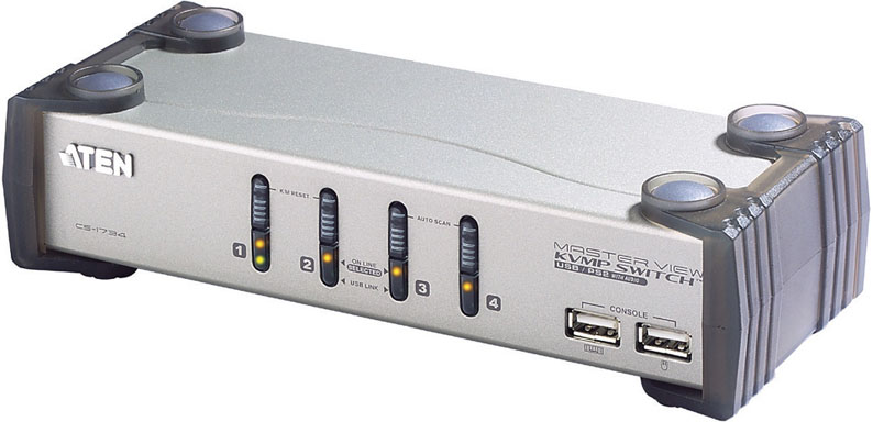 ATEN KVMPスイッチ 2ポート・PS/2-USB・VGA/オーディオ対応 CS-1732A/ATEN