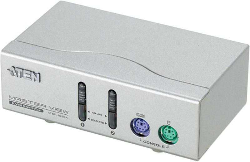 【全品ポイント2倍!】ATEN KVMスイッチ 2ポート・PS/2 CS-82A/ATEN クリスマスプレゼント