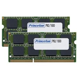 プリンストン Mac対応 増設メモリ 8GB×2枚組 DDR3 1600MHz PC3-12800 204pin SO-DIMM PAN3/1600-8GX2