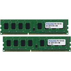 【全品ポイント2倍!】(在庫限り) プリンストン 増設メモリ 2GB×2枚組 DDR3 PC3-8500 CL7 240pin DIMM 低消費電力 PDD3/1066-A2GX2 デスクトップPC向け DOSV/Win対応 クリスマスプレゼント