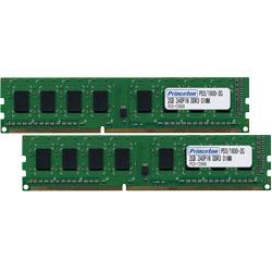 【全品ポイント2倍!】プリンストン 増設メモリ 4GB×2枚組 DDR3 PC3-12800 CL11 240pin DIMM 低消費電力 PDD3/1600-A4GX2 デスクトップPC向け DOSV/Win対応 クリスマスプレゼント