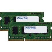 (在庫限り) プリンストン 増設メモリ 2GB×2枚組 DDR3 PC3-8500 204pin CL7 SO-DIMM 低消費電力 PDN3/1066-A2GX2 ノート・スリムデスクPC向け DOSV/Win対応
