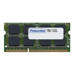 プリンストン 増設メモリ 8GB DDR3L PC3L-10600 204pin CL9 SO-DIMM PDN3/1333L-8G ノート・スリムデスクPC向け DOSV/Win対応
