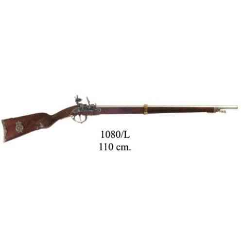 DENIX(デニックス) 【1080L】 ナポレオンライフル ゴールド フランス1807年モデル 110cm 模造(美術装飾)品