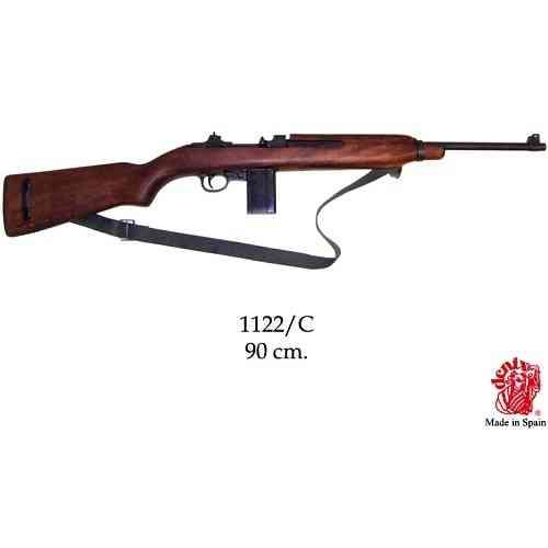 DENIX(デニックス) 【1122C】 M1 カービン銃 ウィンチェスター ベルト付 模造(美術装飾)品