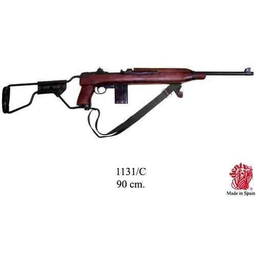 DENIX(デニックス) 【1131C】 M1A1 カービン銃 パラトルーパーモデル 模造(美術装飾)品
