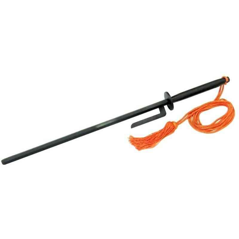 【JT-3】 打ち払い十手 黒 尾形刀剣 模造(美術装飾)品